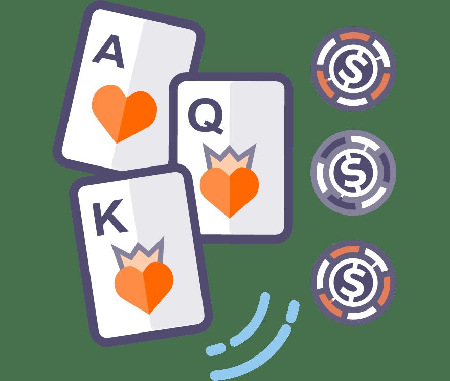 Játsszon Háromlapos póker Online - a 34 legjobban fizető Online Casino 2021