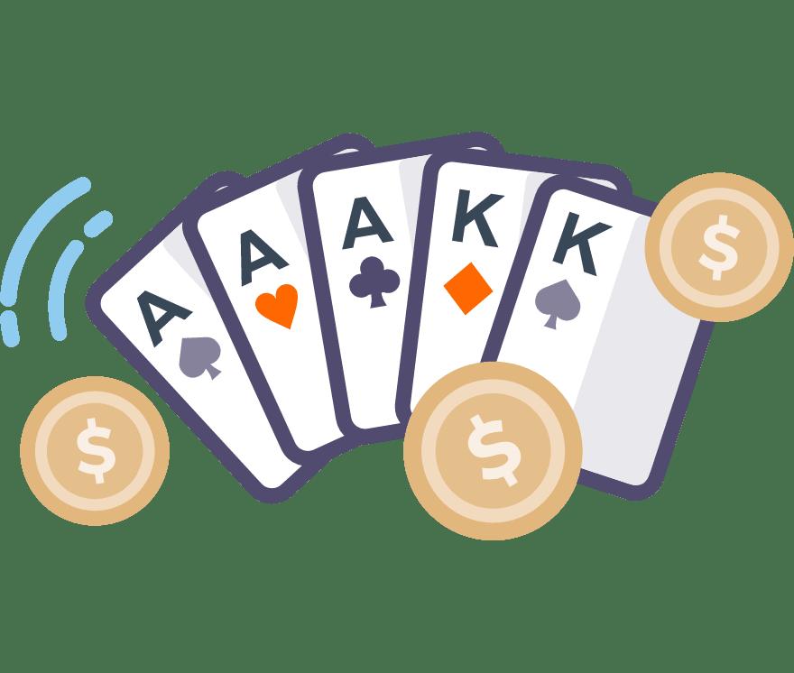 Játsszon Poker Online - a 77 legjobban fizető Online Kaszinó 2021