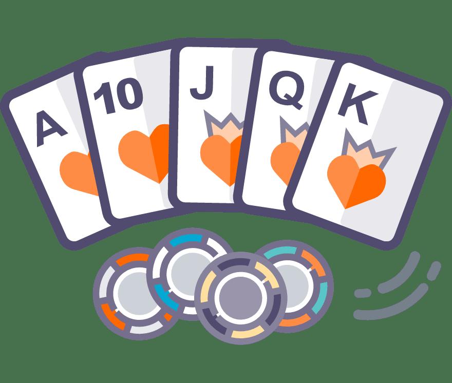 Játsszon Texas Hold'Em Online - a 32 legjobban fizető Online Casino 2021